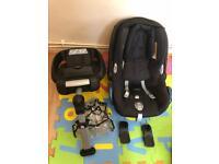 Maxi-Cosi Cabrio Fix car seat & Easybase 2
