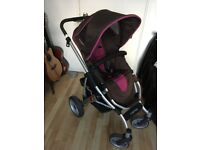 2in1 Buggy/Pram ABCDesign Mamba for sale.