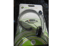 XBOX 360 LIVE HEADPHONES BRAND NEW IN SEALED PACK AUTHENTIC ITEM