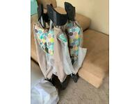 TRAVEL COT IMMACULATE CONDITION ONLY USED COUPLE OF TIMES
