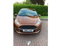 Ford, FIESTA, Hatchback, 2013,Auto, 1597 (cc), 5 doors