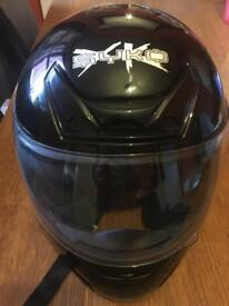 Syko crash helmet ( small )mint condition with holdall £40