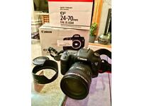 Canon 7d mkii Dslr Camera & Canon 24-70 L IS ISM lens not Nikon Sony Fuji