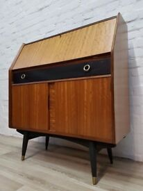 Vintage Writing Bureau From T2 Trainspotting (DELIVERY AVAILABLE FOR THIS ITEM OF FURNITURE)