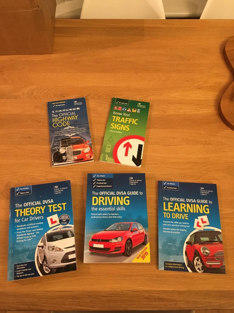Official DVSA Guide Books- for UK driving test