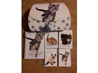 Kitten Stationery Box Set - Notebook - Diary & Address Books - Cards & Envelopes