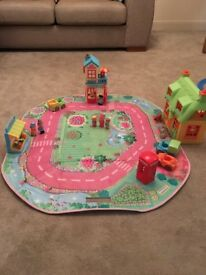 Happyland town with storage box