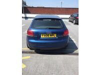 Audi A3 s line 3 doors in a very good condition. Mileage is 14400, 19 inch alloy wheels