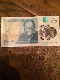 New 5 pound AA27....