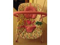 Mothercare Norwegian Wood Bouncer (Like New)