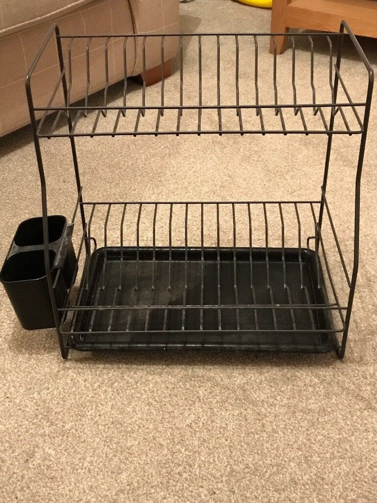 Upright Dish Drying Rack