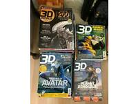 Free 3D and Playstaion magazines