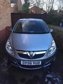 Vauxhall Corsa 1.2, LOW MILEAGE, 3 previous owners. PRICE LOWERED