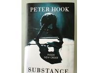 Peter Hook Substance -Hardback