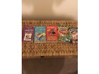 Bundle of 5 children's books David Walliams 2 Captain Underpants and 1 Diary of a Wimpy kid