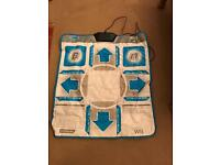 Wii dance mat and game!