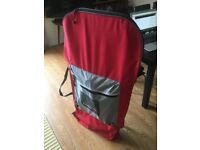 Mantra full size bodyboard (like brand new) with leash, bag and fins