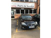 LEXUS IS220D. FULL SERVICE HISTORY. LOW MILEAGE. 5 DOORS