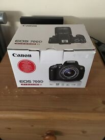 Canon EOS700D - 18-55mm Kit Lens - 50mm 1.8 Prime Lens - Battery Grip