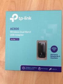 TP Llink Archer T2U USB Wireless Adapter