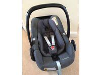 2x Maxi Cosi 'Pebble Plus' car seats - excellent condition, no accidents