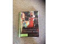 Norton Anthology of Western Music (volumes 1-3), Norton History of Western Music