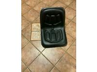 Small tractor seat