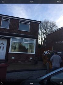Semi detached two bed room £160. Pw