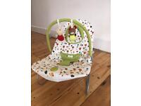 Mamas and papas bouncer with vibration
