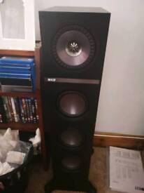 KEF Q500 Floorstanding Speakers Black