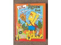 """Kids hardback """"Simpsons"""" puzzle book"""