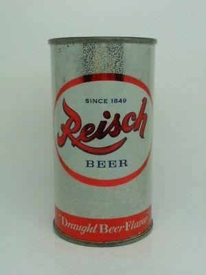 Reisch Flat Top Beer Can-Draught Beer Flavor-Springfield ILLINOIS