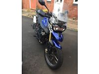 Imaculate Tiger 800 with panniers engine bars etc.