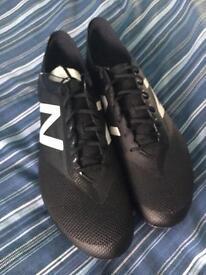 Men's New Balance rare blackout football boots