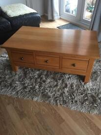 Next Solid Wood Coffee Table