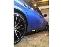 Skirt EXTENSIONS for most cars and vans TYPE R 320d e90 e60 Audi Vw Bmw Evo skyline