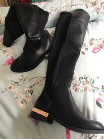 Brand new with tags kirt Geiger boots. Red hearring shoes. Over the knee boots