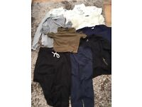 Ladies/Teens Size 14 Clothes Bundle. Mix of sleeveless tops, shirt top, jumper, leggings, joggers.