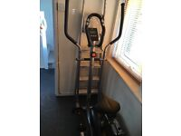 V fit 2 in 1 cross trainer and exercise bike