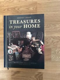 Readers Digest Treasures in your Home book