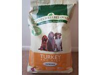James Wellbeloved Junior Puppy Food - Turkey - 7.5kg bag