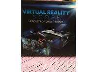 4 available - Scope virtual reality headset for smartphone