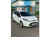 Ford Fiesta 2012 12 plate 1.4 TDCI zetec 5 door hatchback 225k mot till August alloy wheel