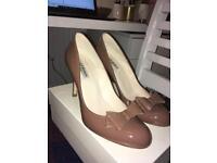 L.K Bennett heels in 'winter rose' size 5