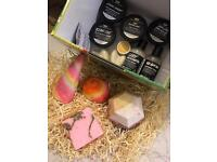 LUSh Luxury Package and Bath Bombs