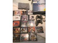 Sony Playstation 1 Console with Games!