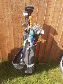 Left hand golf club's