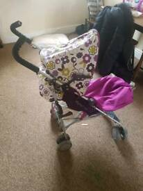 Mammas and pappas pipi stroller
