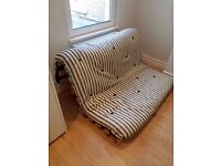 Good condition futon with mattress for sale!