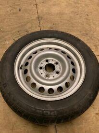 Mercedes Motorhome wheel